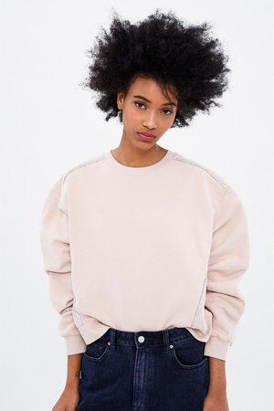 Zara Sweatshirt with sparkly seams