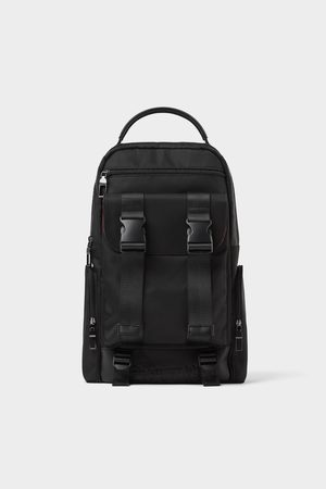Zara Backpack with slogan
