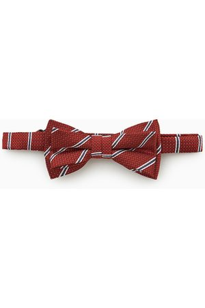 Zara Striped bow tie