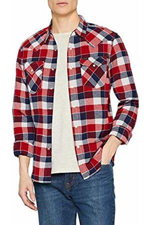 Lee Men's Western Shirt Casual, (Bright Ef)