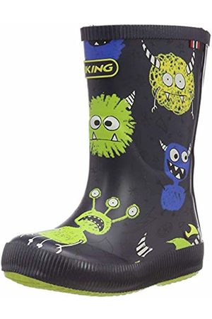 Viking Unisex Kids' Classic Indie Monsters Wellington Boots