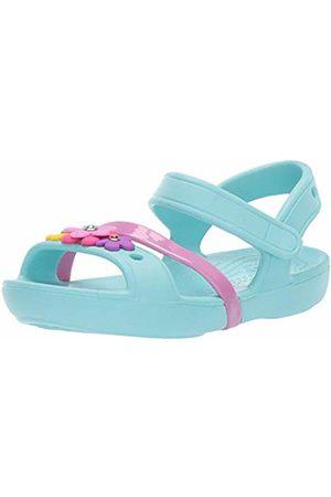 Crocs Unisex Kids' Lina Charm Sandal Kids Heels Sandals