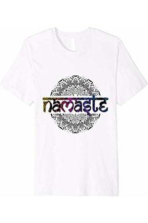 Unique Yoga Tees Fun Namaste Yoga T-Shirt