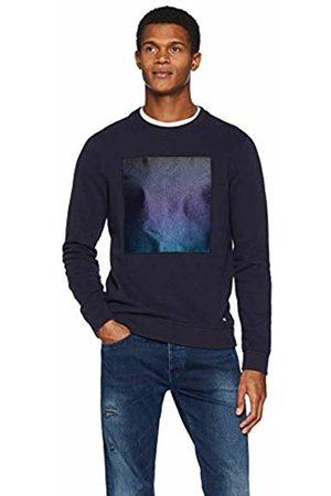 HUGO BOSS Men's Wylight Sweatshirt, (Dark 406)