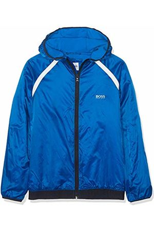 HUGO BOSS Boy's Parka A Capuche Coat, (Bright Turquoise 76n)