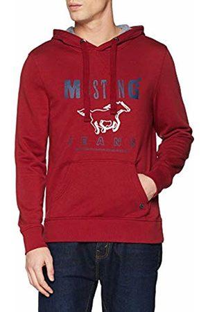 Mustang Men's Printed Hoodie (Rhubarb 7194)