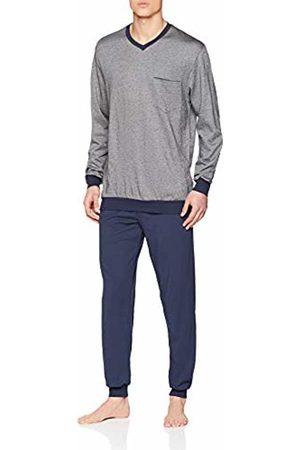 Seidensticker Men Pyjamas - Men's Sj Jacquard Anzug Lang Pyjama Set