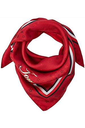 Tommy Hilfiger Women's CNY Silk Square Neckerchief, ( Tommy Print 901)