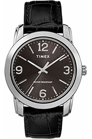 Timex Men's Core 39 mm Leather Strap Watch TW2R86600
