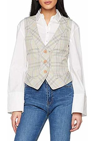 Joe Browns Women's Corsetting Check Waistcoat (A - Multi A) A