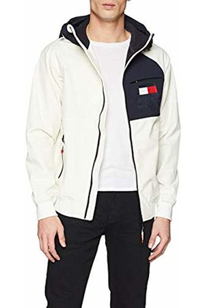 Tommy Hilfiger Men's Softshell Hooded Jacket (Snow 118)