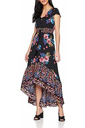 Joe Browns Women's Funky Fishtail Border Print Dress Multi A