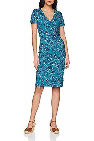 Joe Browns Women's Frivolous Jersey Dress (A - Teal Multi A) A