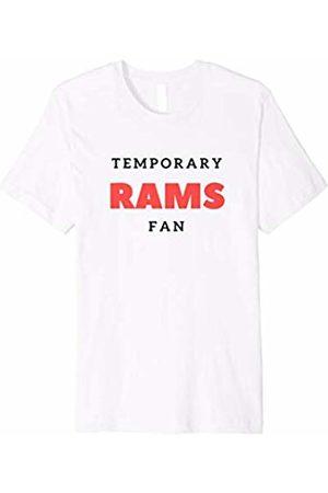 Temporary Rams Fan Tee Temporary Rams Fan T Shirt Hate New England Football Gift