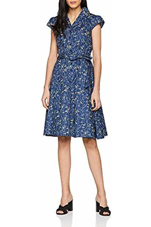 Joe Browns Women's All All New Artistic Vintage Dress (A-Navy Multi (Size:12)