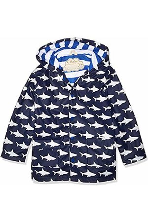 Hatley Boy's Printed Raincoats (Colour Changing Shark Frenzy)