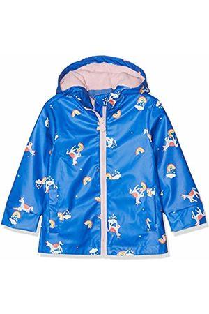 Joules Girl's Raindance Coat, ( Unicorn Clouds Blunicloud)
