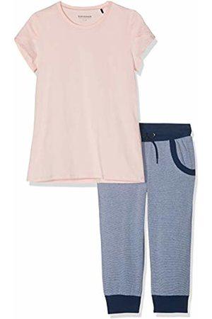 Schiesser Girl's Mix & Relax Mädchen Anzug 3/4 Pyjama Set