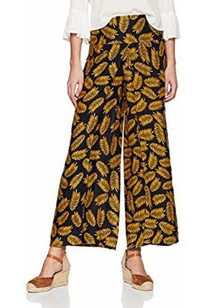 Joe Browns Women's Palm Springs Split Trousers (A-Navy/Ochre A)