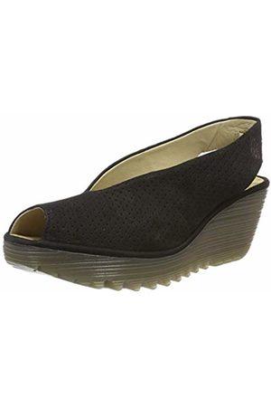 Fly London Women's YAZU736FLY Sling Back Heels, (Crystal Sole) 027