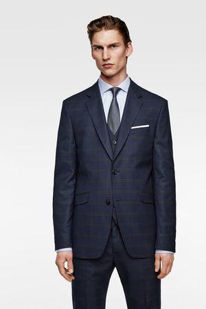 Zara Check suit blazer