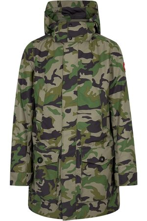 Canada Goose Crew Camouflage Shell Coat