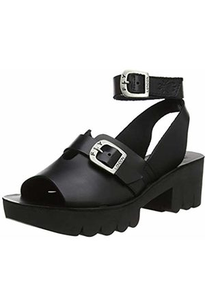 Fly London Women's CANO433FLY Ankle Strap Sandals, ( 000)