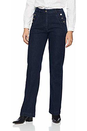 Comma, Women's 81.902.71 1/334 Trouser, ( Denim Stretch 59z9)