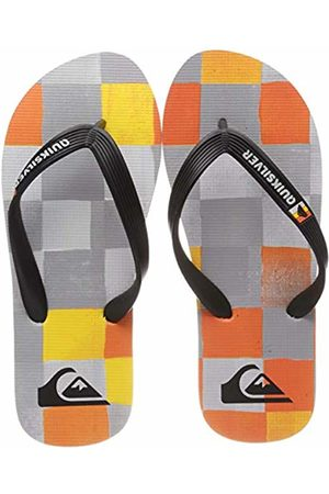 Quiksilver Boys' Molokai Resin Check Beach & Pool Shoes