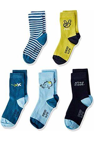 Schiesser Boy's 5pack Kids Socken Jungs Calf Socks