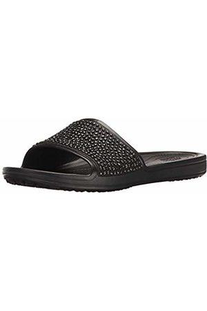Crocs Women's Sloane Embellished Slide Heels Sandals