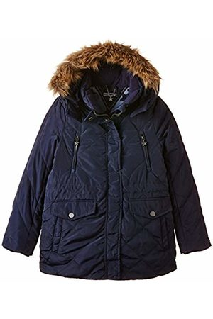 Tommy Hilfiger Girl's Beatrice Stepped Parka Jacket, -Blau ( Iris 002)