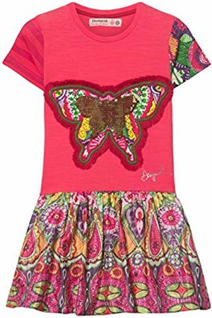 Desigual Girls Knitted Dresses - Girl Knit Dress Short Sleeve (Vest_Albany)