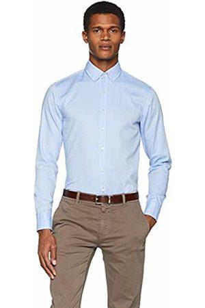 HUGO BOSS Men T-shirts - Men's Mabsoot Casual Shirt, (Bright 521)