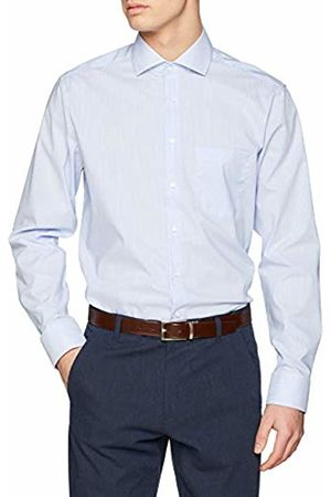 Seidensticker Men's Modern Langarm Mit Kent Kragen Bügelfrei Gestreift Formal Shirt