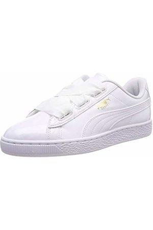 finest selection e40db 07dc6 Unisex Kid's Basket Heart Patent Jr Low-Top Sneakers, -Prism