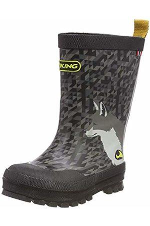 Viking Unisex Kids' Big Fox Wellington Boots, ( /Multi 250)