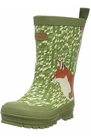 Viking Unisex Kids' Big Fox Wellington Boots