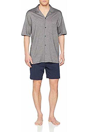 Seidensticker Men's Sj Jacquard Pyjama Kurz Set