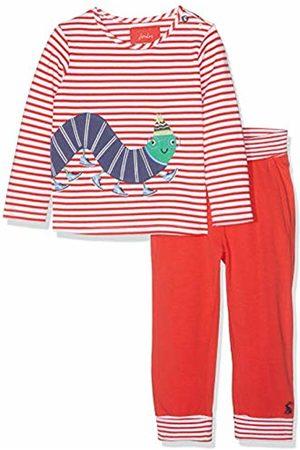 Joules Baby Boys' Bryon Clothing Set, ( Stripe Bug Redstrpbug)