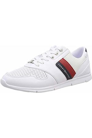2abd9ee34ba595 Tommy Hilfiger Women s Lightweight Leather Sneaker Low-Top
