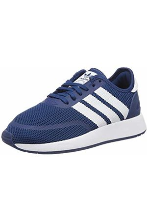 adidas Unisex Kids' N-5923 J Gymnastics Shoes, FTWR /Legend Marine