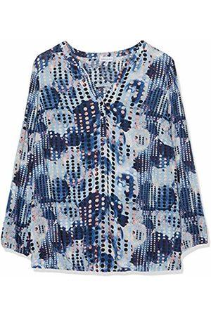 Gina Laura Shirt slim Print weiss NEU Front Pailetten