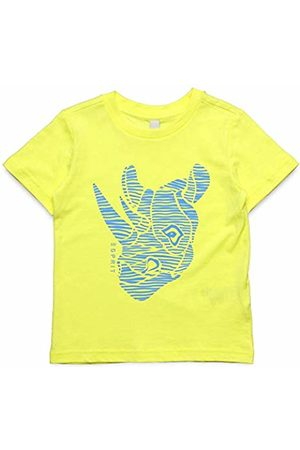 Esprit Kids Boys' T-Shirt SS Gelb (Lemon Drop 710)