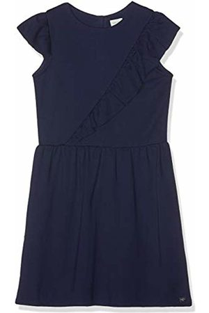 Carrément Beau Girl's Robe Dress, (Indigo 85t)
