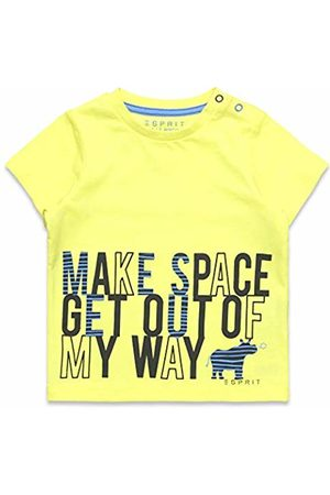 Esprit Baby T-shirts - Kids Baby Boys' T-Shirt Ss (Lemon Drop 710)