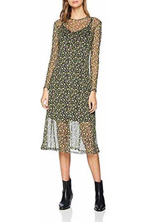 New Look Women's Ditsy Mesh6162308 Dress