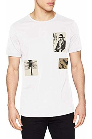Antony Morato Men's T-Shirt Con Patch E Stampa Kniited Tank Top