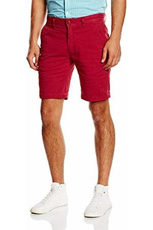 Tommy Hilfiger Men Shorts - Men's Straight Freddy Ftst Gd Shorts, - Rouge (Chili Pepper Pt)