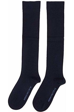 Hudson Men's Knee-High Socks blu (Blau (Marine 0335)) 9/11 (Manufacturer Sizes: 43/46)